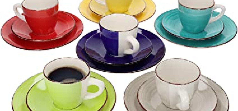 zes koffie en thee